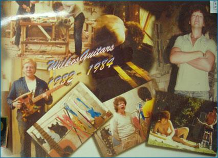 Doug Wilkes Guitars Factory