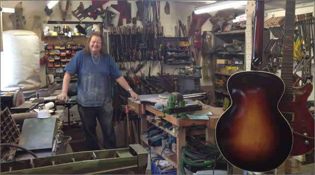 Wilkes Guitars Workshop