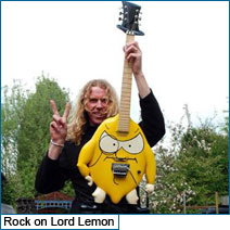 Dave Ball's Doug Wilkes Lord Lemon guitar