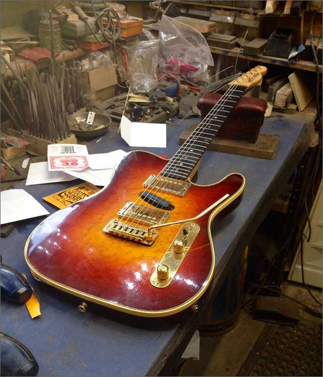 Wilkes Guitars Custom Telecaster