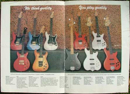 Wilkes Guitars Original Workshop Catalogue