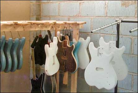 Wilkes Guitars Original Workshop, Hanley, Stoke on Trent