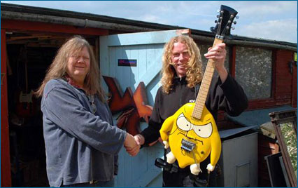Doug Wilkes Lord Lemon Guitar