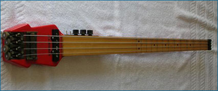 Doug Wilkes Fretted Fretless Stick Bass