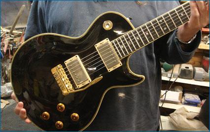 Doug Wilkes Les Paul Style Guitar