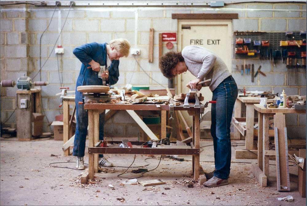 Wilkes Guitars Factory Workshop