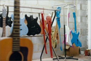 Wilkes Guitars Factory Workshop