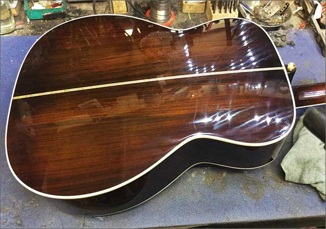 Doug Wilkes Martin Guitar Repair