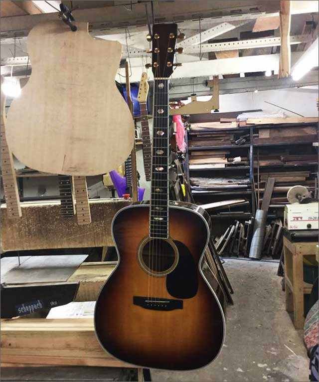 Doug Wilkes Martin Guitar Repair
