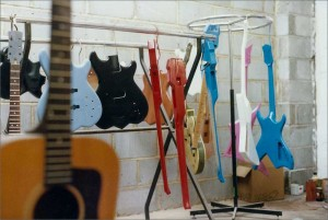 Doug-Wilkes-Guitar-Hanging-In-Workshop