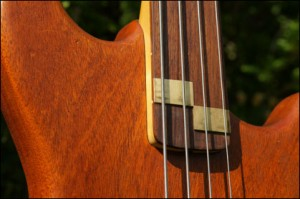 Wilkes Guitars bass-neck