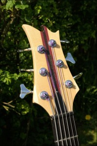 Wilkes Guitars headstock
