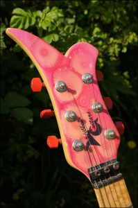 Wilkes Guitars prince-headstock