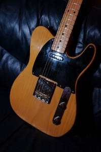 Wilkes Guitars telecaster-blonde