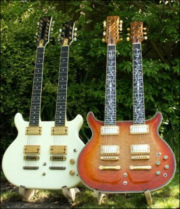 Wilkes Guitars twin-necks