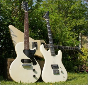 Wilkes Guitars white-guitars